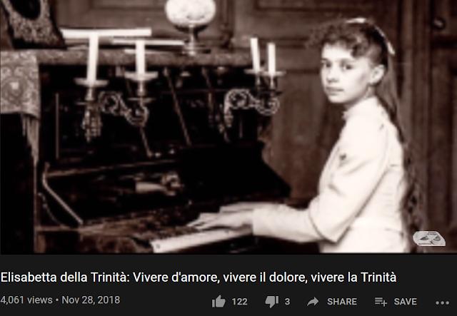 Elisabetta della Trinità: Vivere d'amore, vivere il dolore, vivere la Trinità