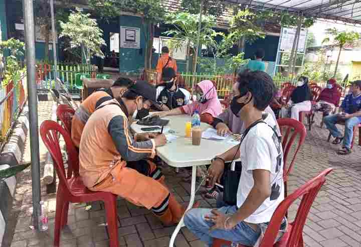 Kelurahan Kapuk Kolaborasi Dengan Puskesmas Kapuk Gelar Vaksinasi Dinamis...