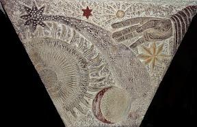 La main créatrice de Dieu : création des étoiles