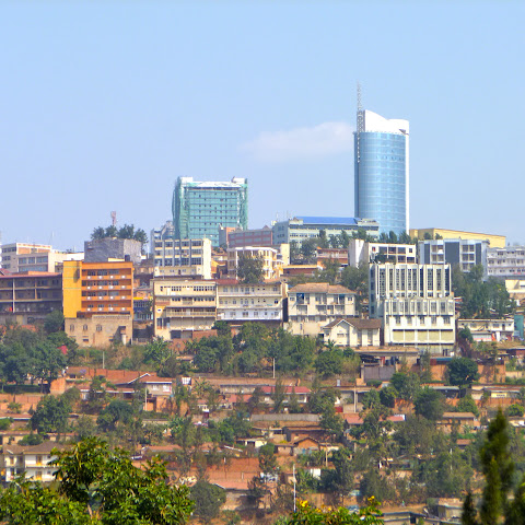 Kigali, capital city of Rwanda