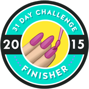 31 Day Challenge Finisher!
