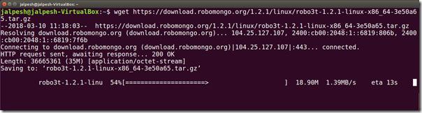 How to install Robo3T(Formerly RobMongo) on Ubuntu - DotNetJalps