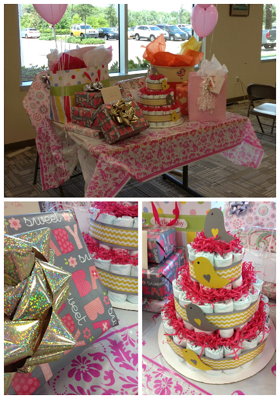 how to host a baby shower at work via SewWoodsy.com