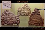 Antefijas. Cultura romana