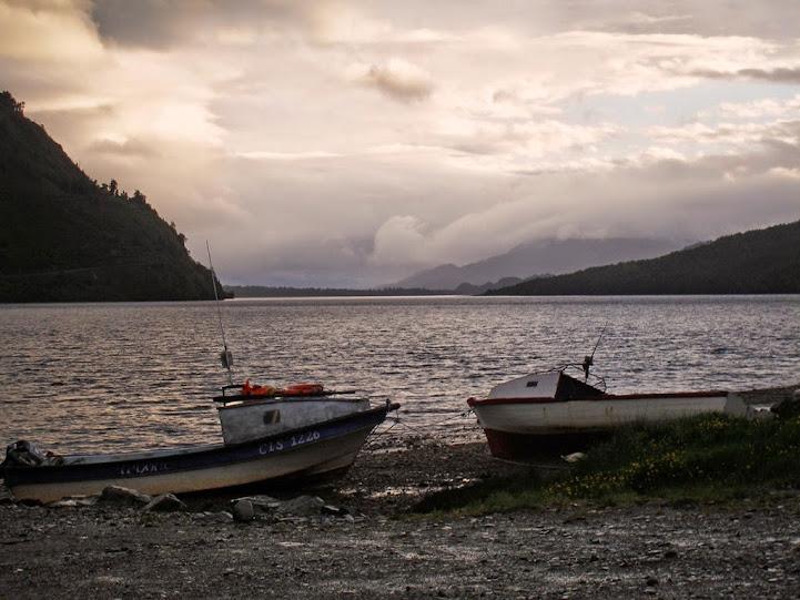 Barcas de pescadores, Puyuhuapi