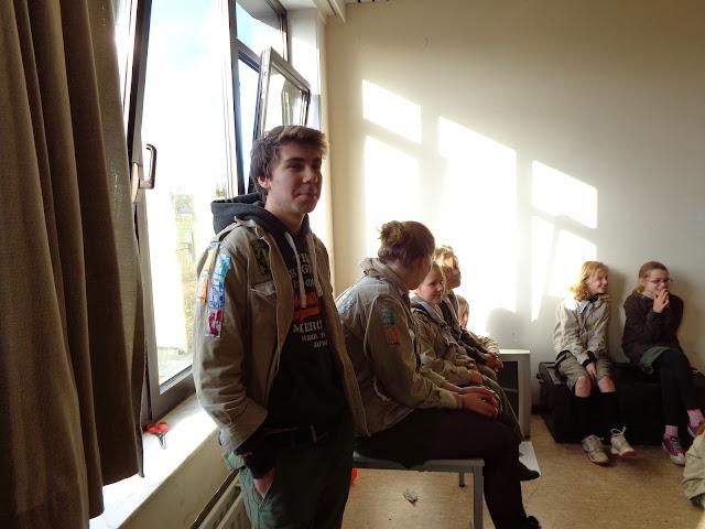 Sinterklaas op de scouts - 1 december 2013 - DSC00191.JPG