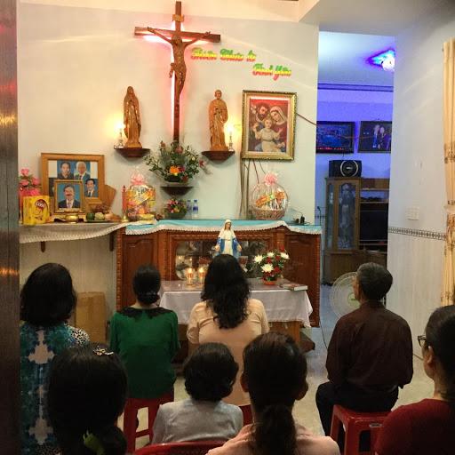 Những hình ảnh thực hành tháng hoa tại Giáo xứ Ba Ngòi