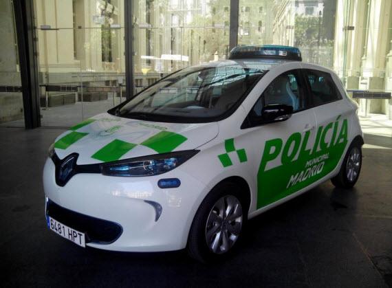 Nuevos coches eléctricos para la Policía Municipal