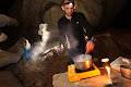 James Alker, chef de cuisine, Whiterock Cave | photo © Robbie Shone