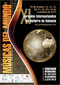 XI Jornadas de Guitarra 2013