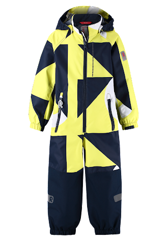 Reimatec Kiddo Fendari 520242C-2372 Lemon Yellow vår/høstdress