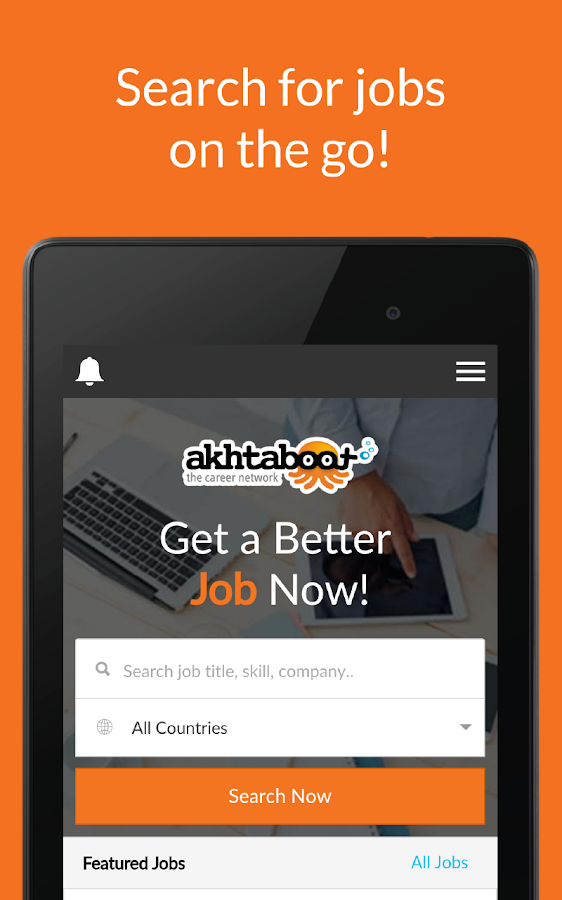 Akhtaboot: Look for a new job- screenshot