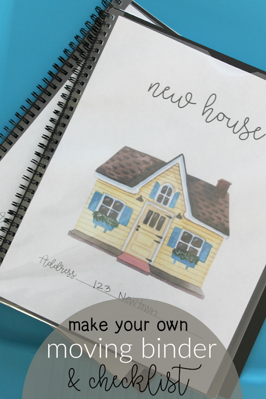 Make Your Own Moving Binder & Checklist #printables #lifestorage