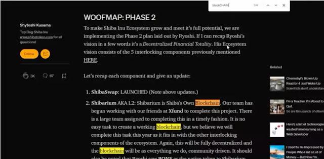 Shiba Inu phase 2