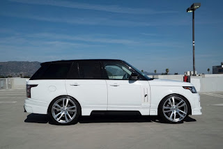 Custom Range Rover Autobiography running on 24-inch Forgiato Wheels