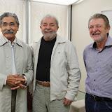 Ol�vio Dutra visita Lula