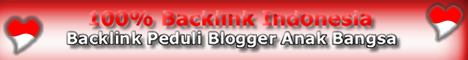 100% Backlink Indonesia