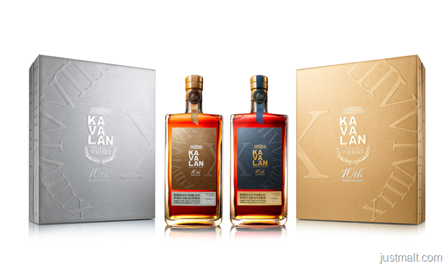 Kavalan Unveils 10th Anniversary 'First Growth Bordeaux' Cask-Aged Whiskies Limited to 3,000 bottles
