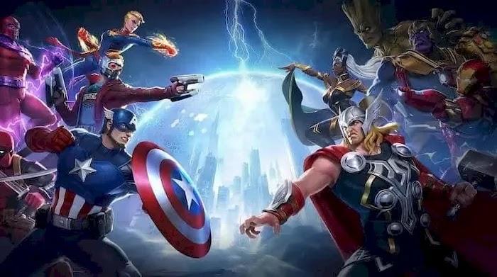 Popular PC MOBA Games Marvel Super War