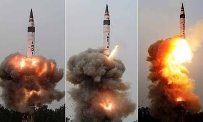ICBM Surya Missile