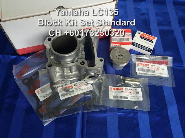 CH Motorcycle Store: Yamaha LC135 Block Kit Set Standard