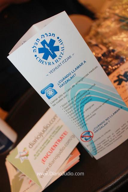 Hatzalah presente en la Jornada Médica de Monte Sinaí