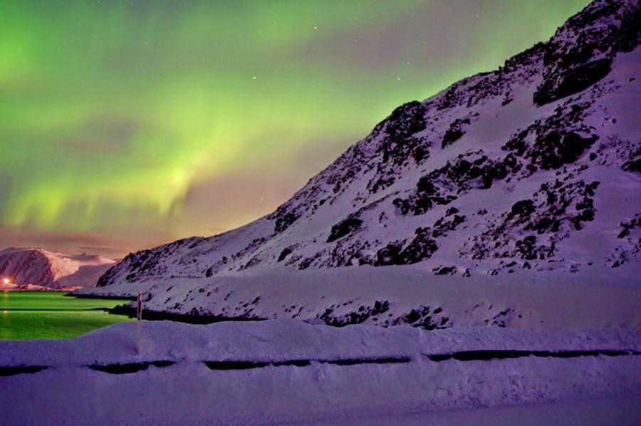 Amanecer polar en Laponia