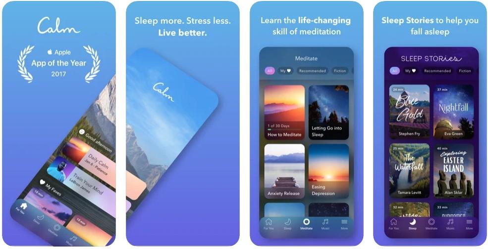 Calm- Meditation and Sleep Stories