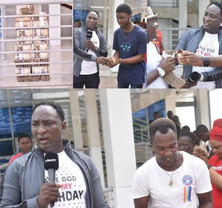 Christ Mercyland Prophet Jeremiah Fufeyin dished out 10million Naira to support supers stars Mamuze brothers and other [Watch Video]