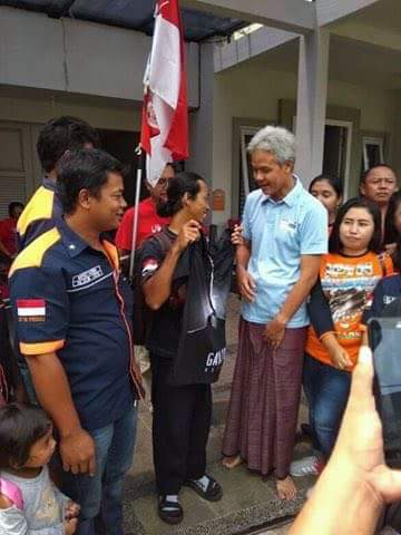 Marak Pungli, Supir Truck Agus Yuda Jalan Kaki Mojokerto-Jakarta Temui Presiden Jokowi