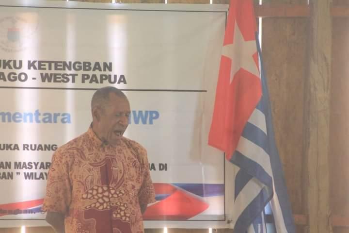 Sosialisasi Green State Vision Pemerintahan Sementara West Papua di Pegunungan Bintang, West Papua