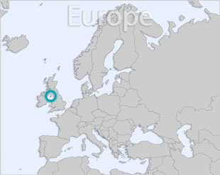 Isle of Man location map
