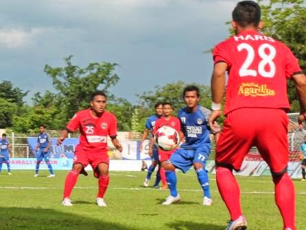 Laskar Ketonggo Imbangi Permainan PSIM Yogyakarta
