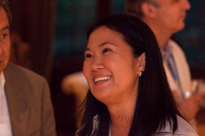 Keiko Fujimori, the daughter of Peru's former president Alberto Fujimori.