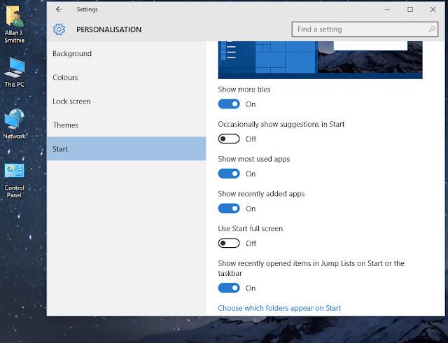 Windows 10 Disable Start Menu ads