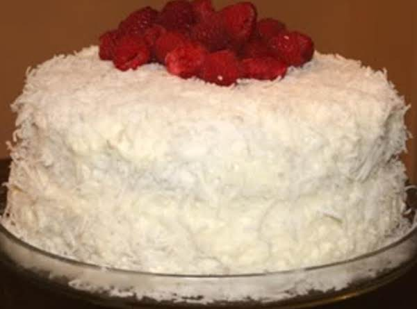 My Old Fashioned Coconut Cake