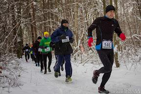 Wieliszewski Crossing - zima (26 stycznia 2014)
