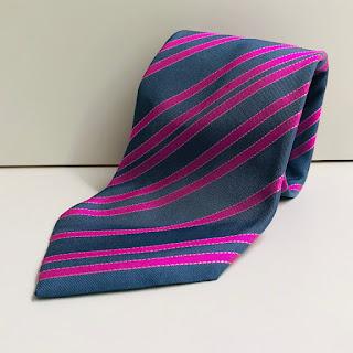 Hermes Pink Tie