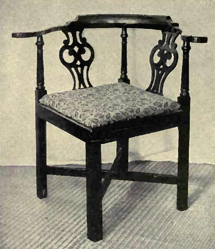 Chippendale Furniture: Chippendale Seat