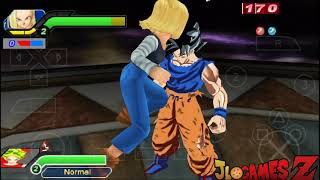 SAIUU! NOVO (MOD) DBZ SUPER STYLE DRAGON BALL FIGHTER Z (MOD) TENKAICHI TAG TEAM PARA ANDROID PPSSPP