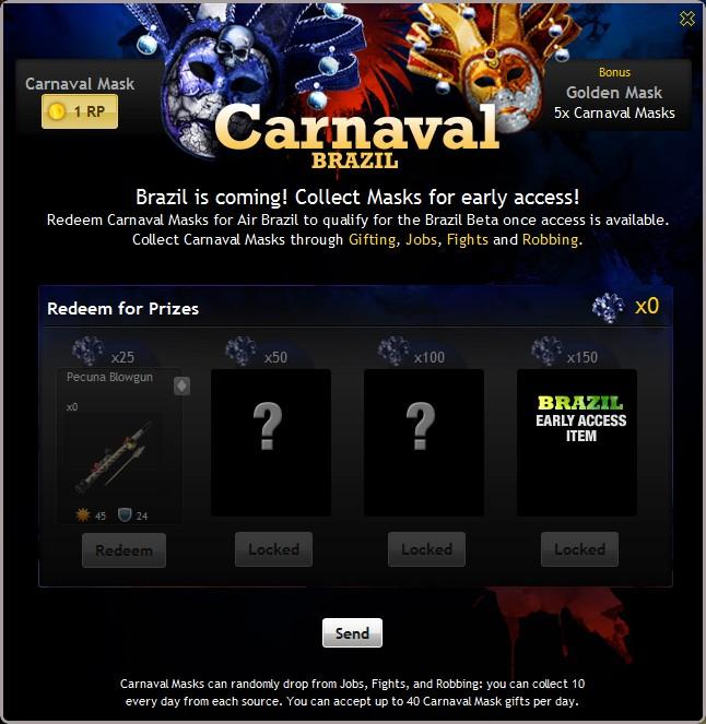 carnival brazil mask. Carnival Mask Brazil Combo