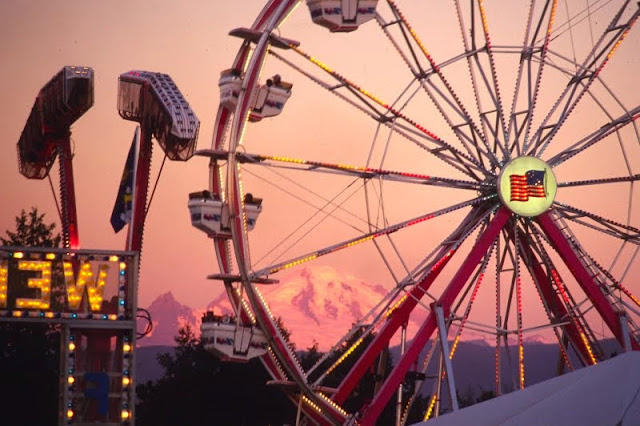 The Northwest Washington Fair that attracts over 200,000 visitors during the third week of August every year.Credit: Jon Brunk
