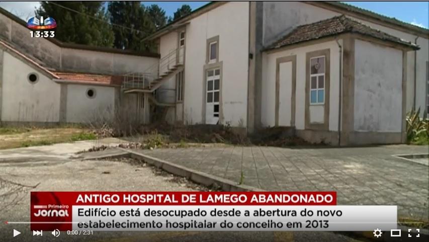 Reportagem SIC - Antigo hospital de Lamego ao abandono desde 2013