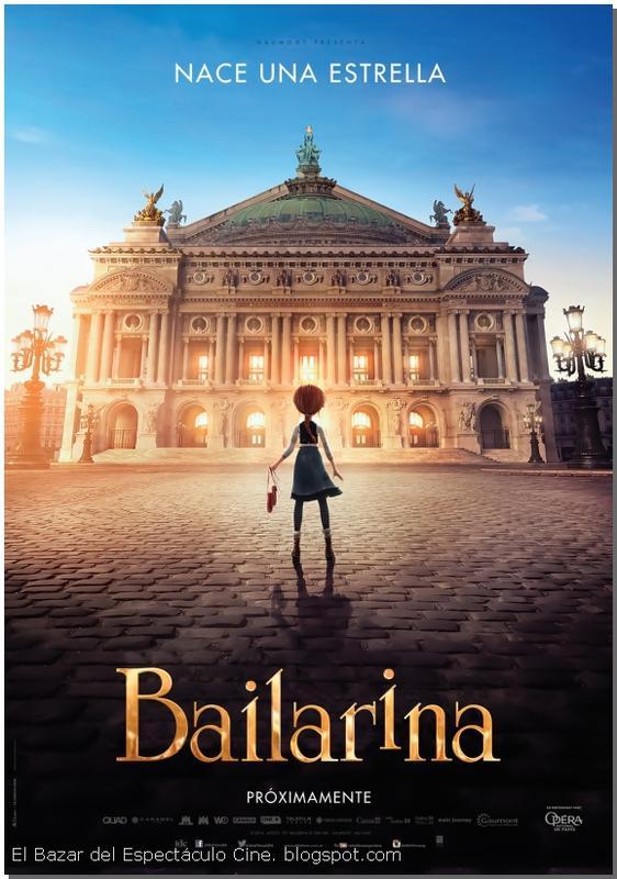 Bailarina (2016) [BrRip 720p][Latino][MEGA]