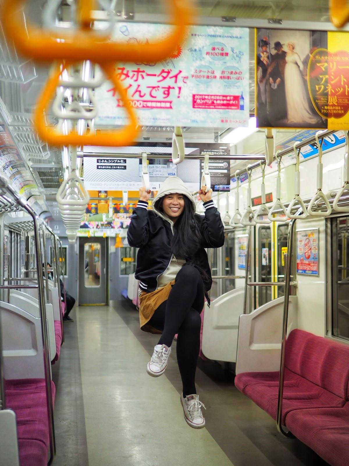 tokyo japan jr east line