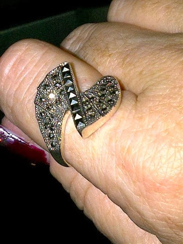 new ring to go with the new nail design