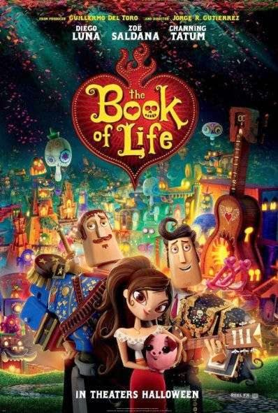 Poster Of English Movie The Book of Life (2014) Free Download Full New Hollywood Movie Watch Online At Alldownloads4u.Com