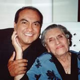 Don Miguel Ruiz With Mother, Don Miguel Ruiz