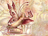 Red Fairy Butterfly