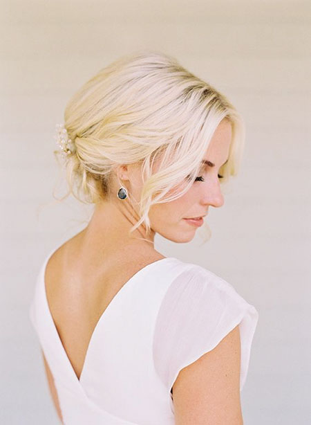 Latest Wedding Hairstyles for Short Hair For 2018 4